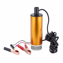 Bomba Transferencia Combustible Portatil Conecta A Bateria