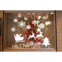 Vinilo Para Vidriera Motivo Navidad Y Año Nuevo