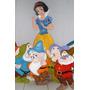 Figuras En Anime, Set Princesa Blanca Nieves, Enanos +regalo