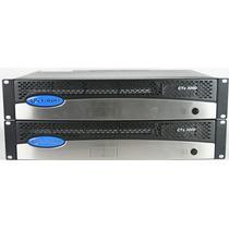 Amplificador Crown Dual 1500w A 4 Y 2 Ohms Y 70v, Cts3000