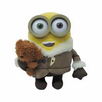 Peluche Original Minions Bob Con Osito Teddy