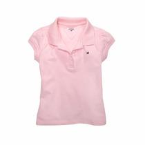 Camisa Polo Tommy Hilfiger Menina Infantil - Original