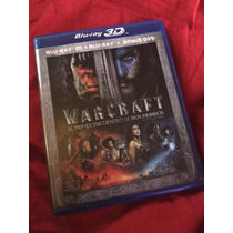 Warcraft Tercera Dimension Bluray 3d +dvd Remato Peliculas