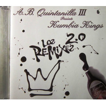 Kumbia Kings - Los Remixes 2.0 Importado De Usa