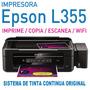Impresora Epson L355 Multifuncion Sistema Tinta Original