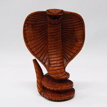 Serpiente Cobra Madera Teka Indonesia, Oriental, Hindú