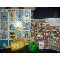 Gcg Lote 5 Juegos Gnde Serpiente Loteria Dado Naipe Pirinola