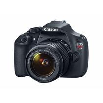 Camera Canon Eos Rebel T5 18-55mm Dslr Top De Mais