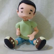 Topo De Bolo Infantil Em Biscuit Meninos