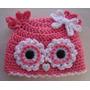 Espectaculares Gorritos En Crochet - Tallas 0 A 24 Meses