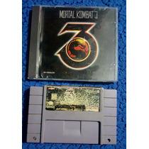Mortal Kombat 3 Para Super Nintendo Y Pc, Snes