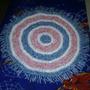 Alfombras Artesanales De Totora Tejidas Al Crochet