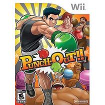 Punch Out Nintendo Wii - Raridade !!! Original E Lacrado !!!