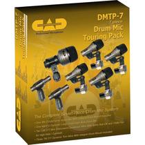 Kit De Microfone Para Bateria Cad Dmtp-7 ++ General Som ++