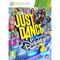 Jogo Midia Fisica Just Dance Disney Party 2 Kinect Xbox 360
