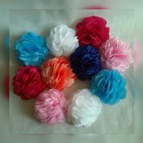 Flores De Tela Al Estilo Rosas, Cintillos Coronas De Flores