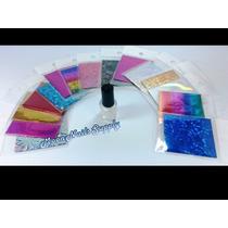 Kit De Foil Para Decoración De Uñas Rm4