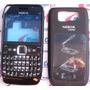 Carcaça Nokia E63 Black + Chassi + Teclado