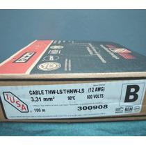 Caja De Cable Cal. 12 Marca Iusa Incluye Envío.