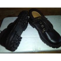 Zapatos Cuero Forrado Niños
