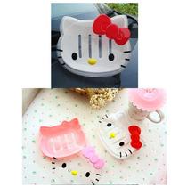 Jabonera Hello Kitty Plastico! Baño, Importado