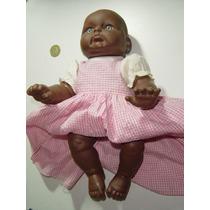 Vintage Bebé Mediano De De Vinil Negrita