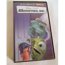 Monsters, Inc. Disney Vhs, En Español Original