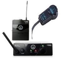 Transmissor Akg Wms 40 Pro Mini Com Microfone Akg C-411 C411