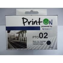 Printon Cartucho Compatible Con Hp # 02 N,lc,lm