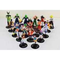 Conjunto 20 Figuras Miniaturas Dragon Ball Z Gt Bonecos