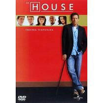Dr. House Tercera Temporada Serie En Dvd