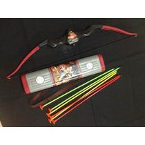 Arco E Flecha Infantil , E Porta Flechas Kit Completo