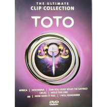 Toto - The Ultimate Clip Collection Dvd