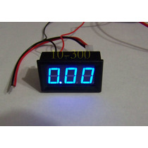 G Amperimetro Digital 10a, 4-30 Vdc , Arduino ,automotriz