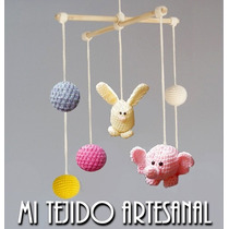 Colgantes Móviles Tejidos Al Crochet Para Tu Bebé Y Casa