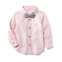 Camisa Manga Larga Old Navy Para Niño Estilo #20535 Rosa