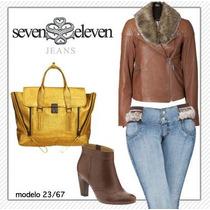 Jeans Levantapompas Seven Eleven Talla 7 Envio Gratis