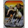 Quadro Moldura Cavalo Apache Garanhão Mustang Potro Selvagem