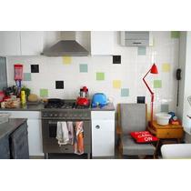 Papel Parede Banheiro Cozinha Lavável 50un 20x20 - 5 Cores