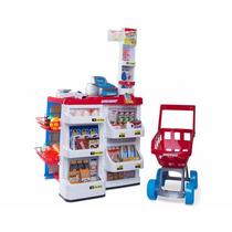 Supermercado Para Ninas Caja Registradora Accesorios Carrito