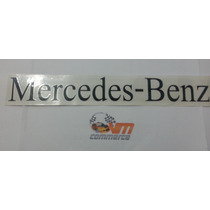 Emblema Adesivo Mercedes Benz Preto