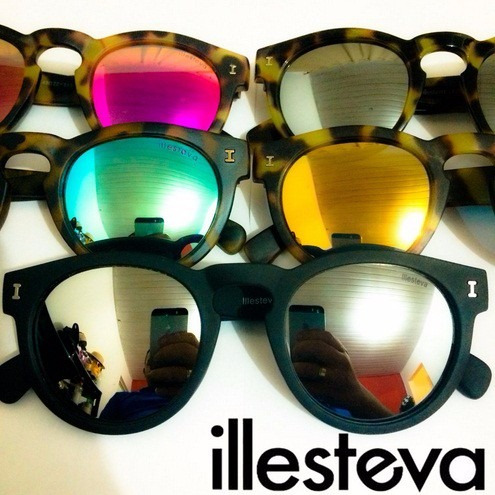 7aac70ccc Óculos De Sol Illesteva Lançamento Gatinho