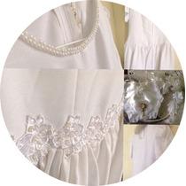 Vestido Primera Comunión Corona Bolso Blanco Buena Reputació