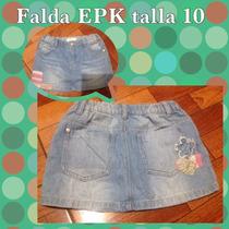 Falda Epk Talla 10