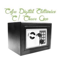 Cofre Digital Segurança Eletronico Ferro Camuflado Camera
