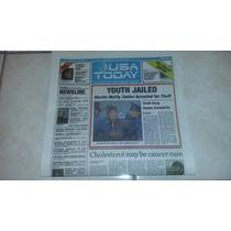Usa Today Volver Al Futuro Edición Hill Valley Original