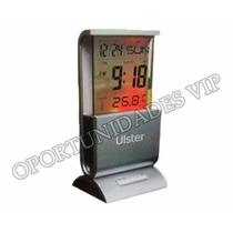 Reloj De Mesa Digital Con Control De Temperatura - 2489