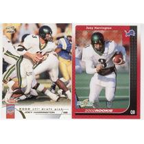 2002 Pacific Y Score Joey Harrington Rookie Lions ( 2 )