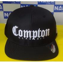 Boné Compton Classic Hat Aba Reta Snapback
