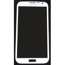 Samsung Galaxy Note 2 Refacción Cristal Gorilla Glass Blanco